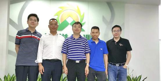 中国能建广东火电力特公司 三任前总经理莅临考察沛誉能源